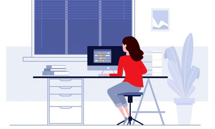 Como organizar o home-office