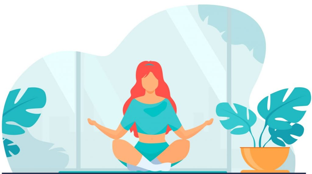 O Gympass também oferece atividades relacionadas ao bem-estar, como meditação e yoga.