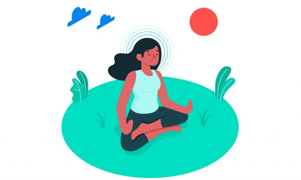 Meditações guiadas pela Viki, assistente virtual da Vitalk, ajudam a melhorar a saúde emocional