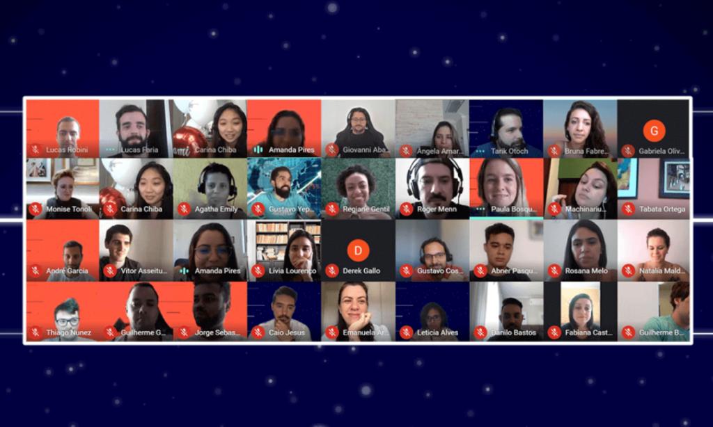 """""""Sami - 1 ano em casa"""": o evento online reuniu membros e colaboradores da Sami para trocar experiências e compartilhar os desafios trazidos pela pandemia"""