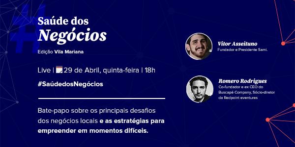 Imagem do evento Saúde dos Negócios edição Vila Mariana